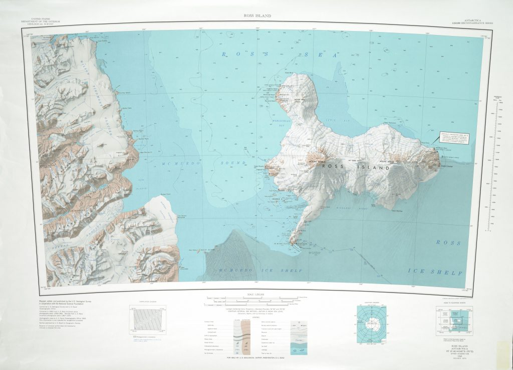 Ross Island 1:250,000 Topographic Reconnaissance Series (USGS)